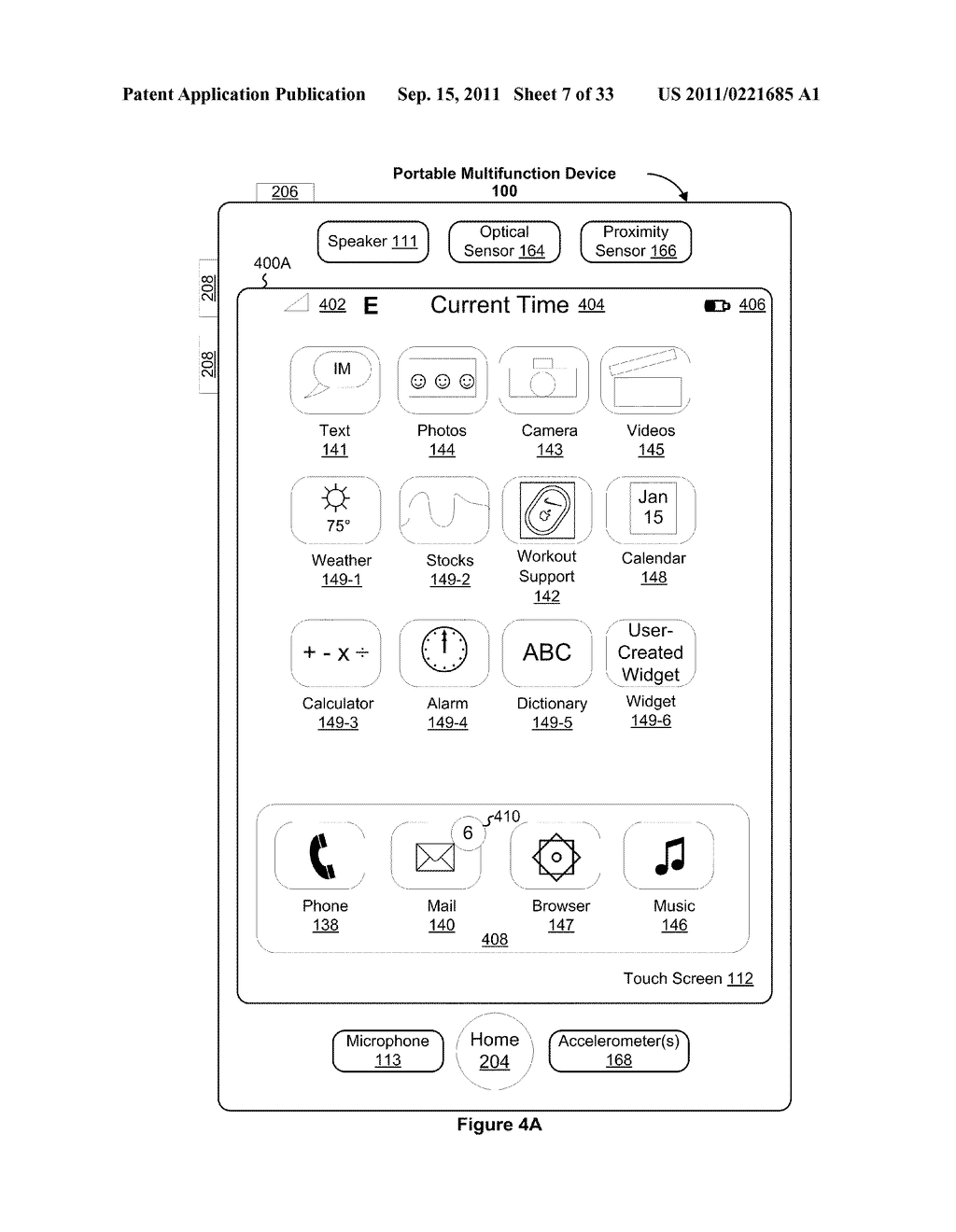 Device, Method, and Graphical User Interface for Performing Character     Entry - diagram, schematic, and image 08