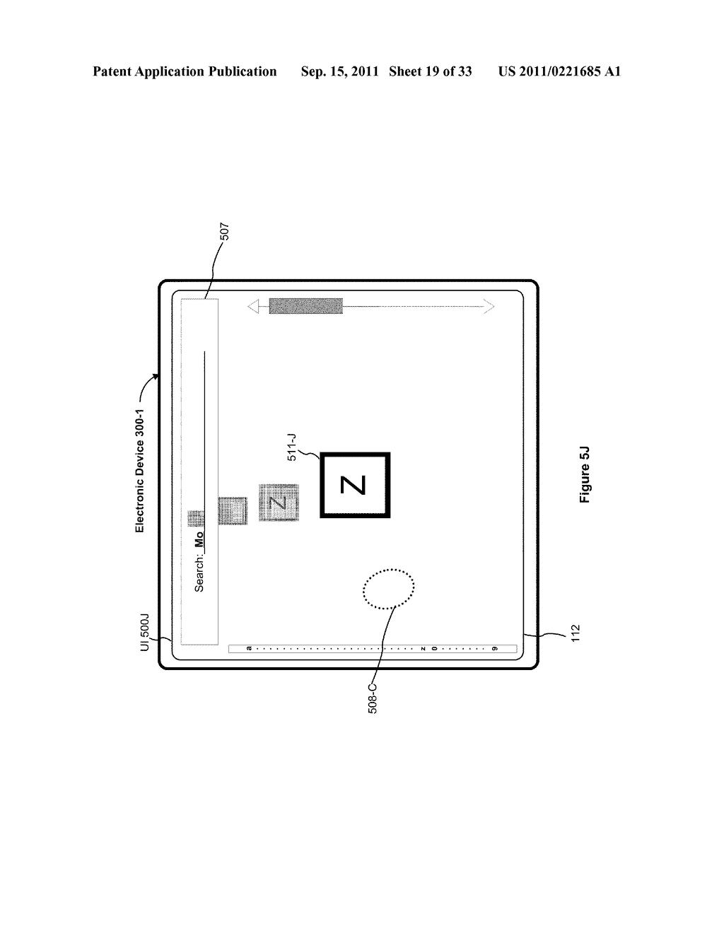 Device, Method, and Graphical User Interface for Performing Character     Entry - diagram, schematic, and image 20