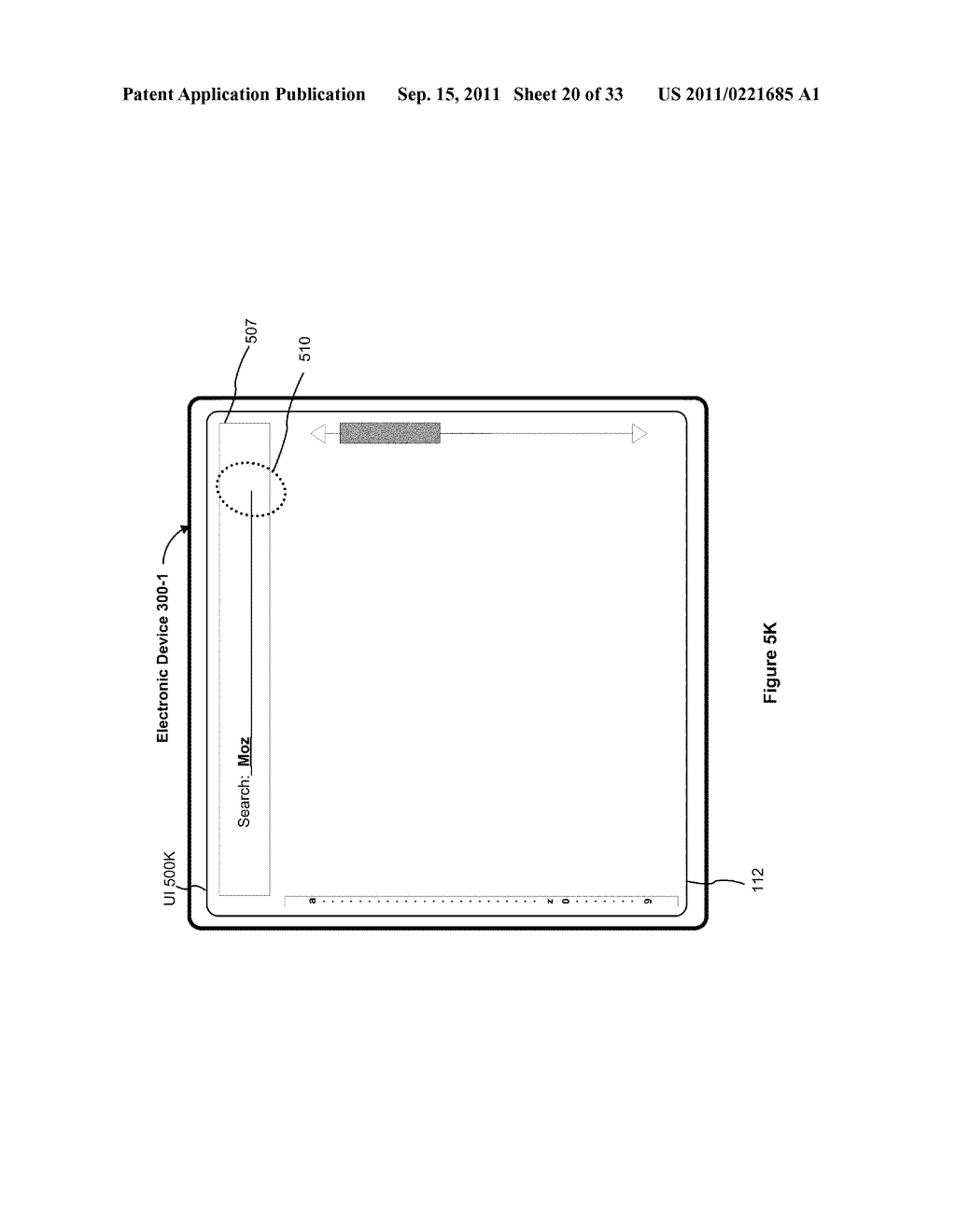 Device, Method, and Graphical User Interface for Performing Character     Entry - diagram, schematic, and image 21