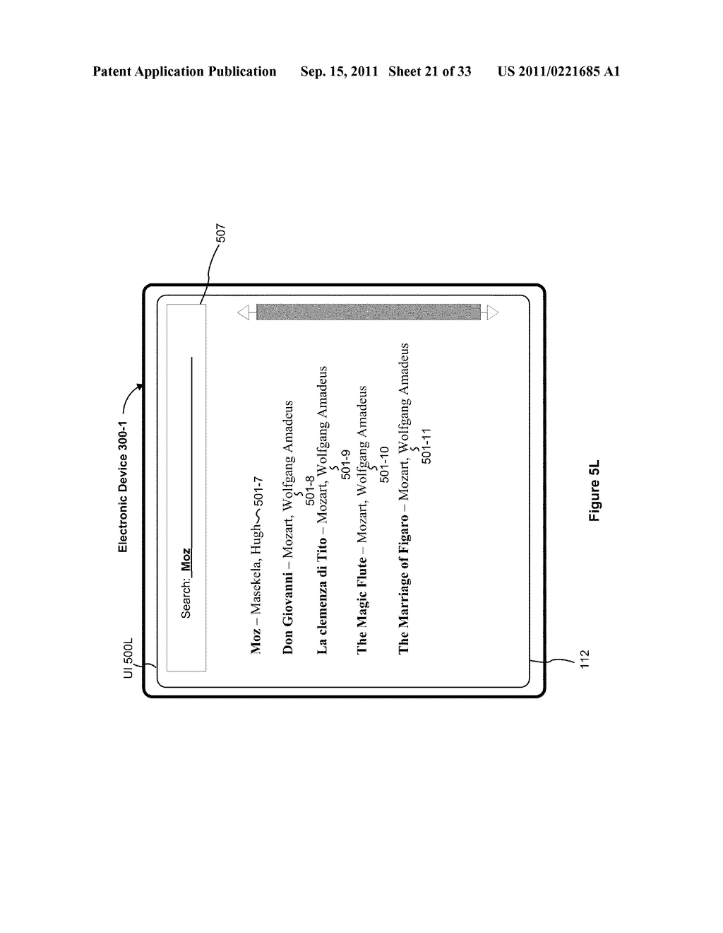Device, Method, and Graphical User Interface for Performing Character     Entry - diagram, schematic, and image 22