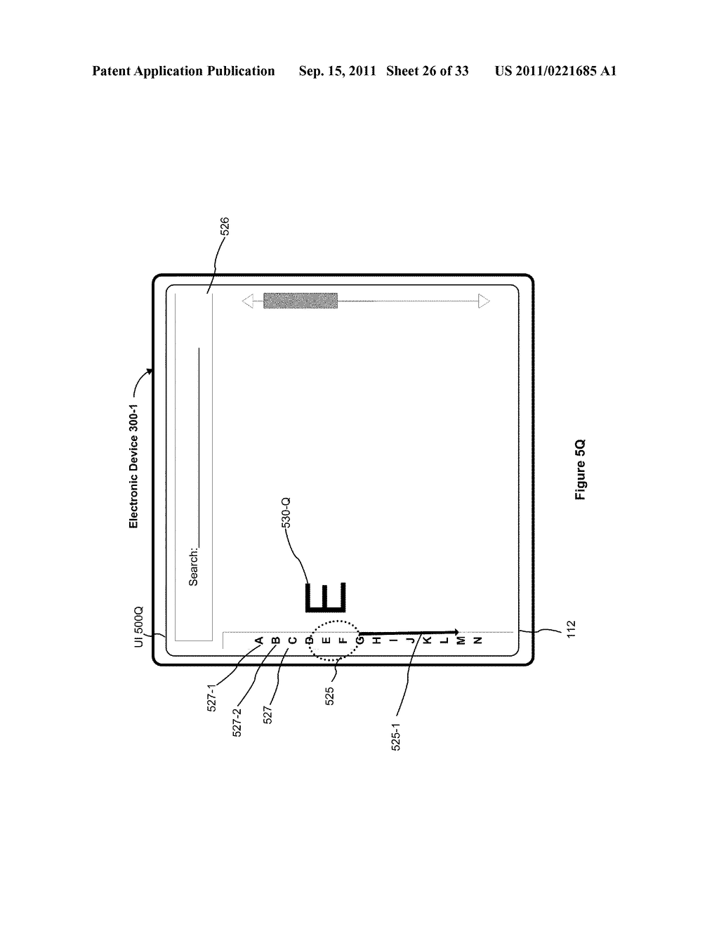 Device, Method, and Graphical User Interface for Performing Character     Entry - diagram, schematic, and image 27