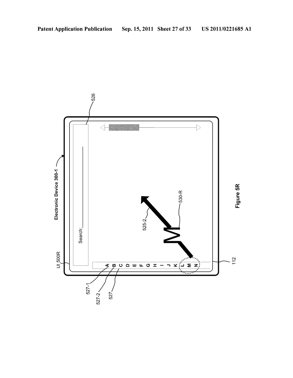 Device, Method, and Graphical User Interface for Performing Character     Entry - diagram, schematic, and image 28