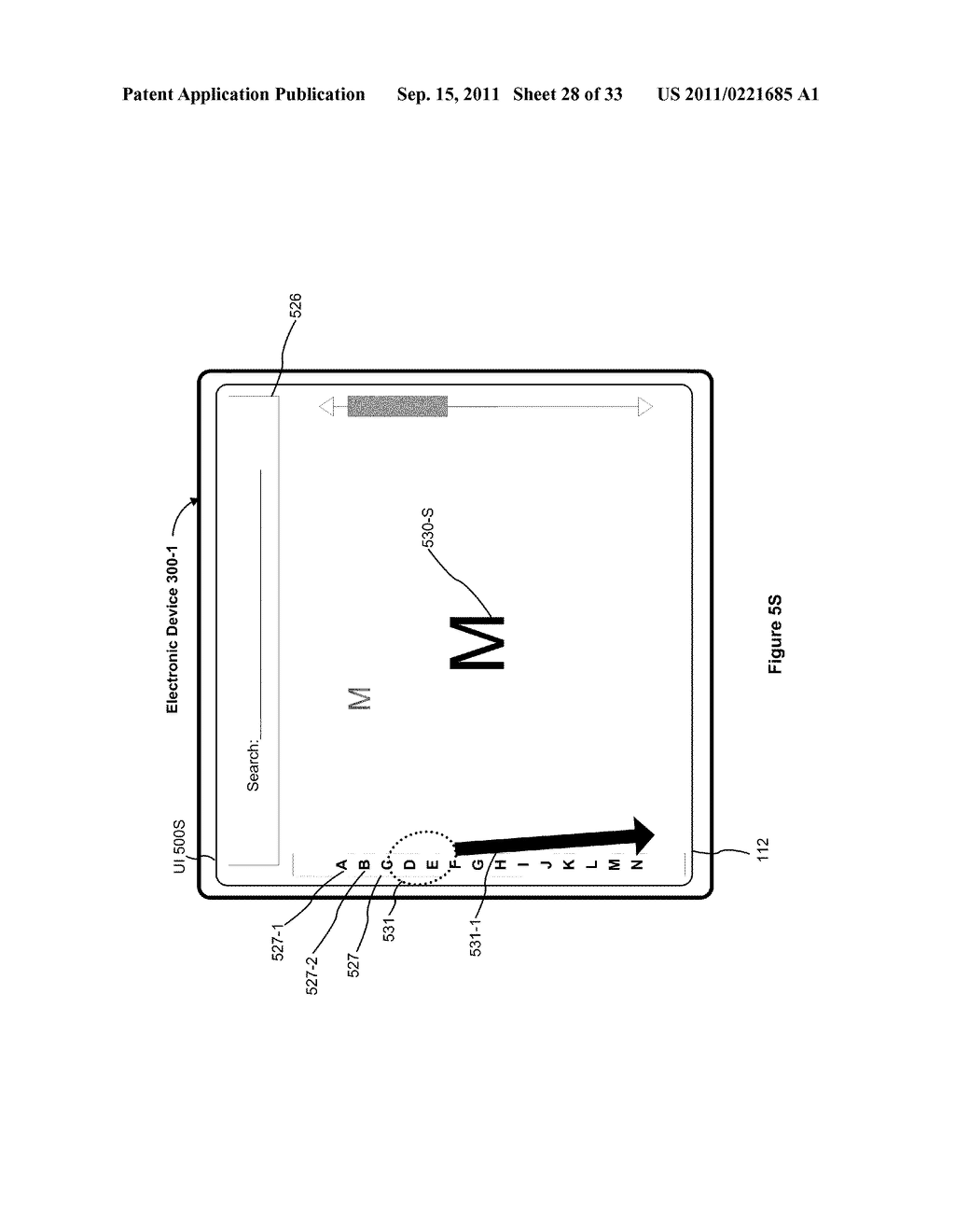 Device, Method, and Graphical User Interface for Performing Character     Entry - diagram, schematic, and image 29