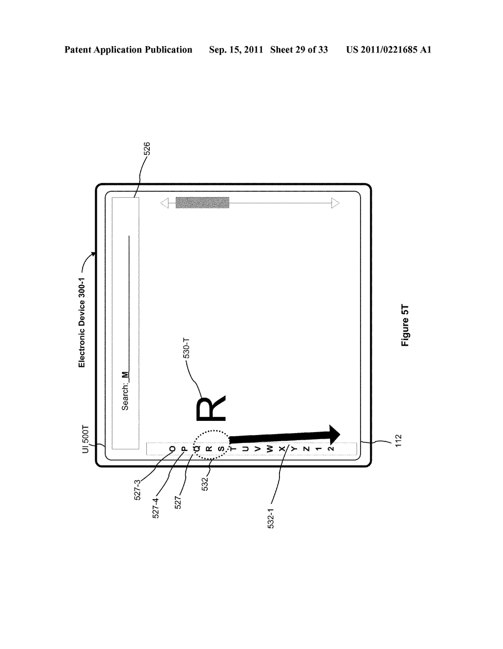 Device, Method, and Graphical User Interface for Performing Character     Entry - diagram, schematic, and image 30