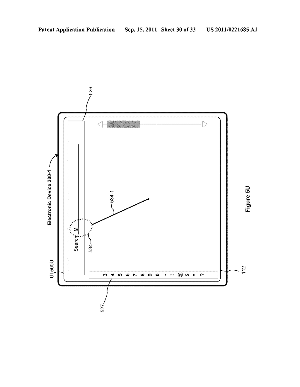 Device, Method, and Graphical User Interface for Performing Character     Entry - diagram, schematic, and image 31