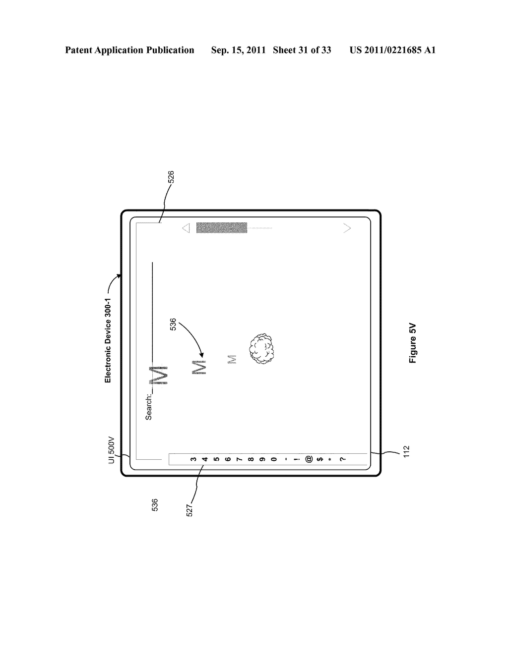 Device, Method, and Graphical User Interface for Performing Character     Entry - diagram, schematic, and image 32