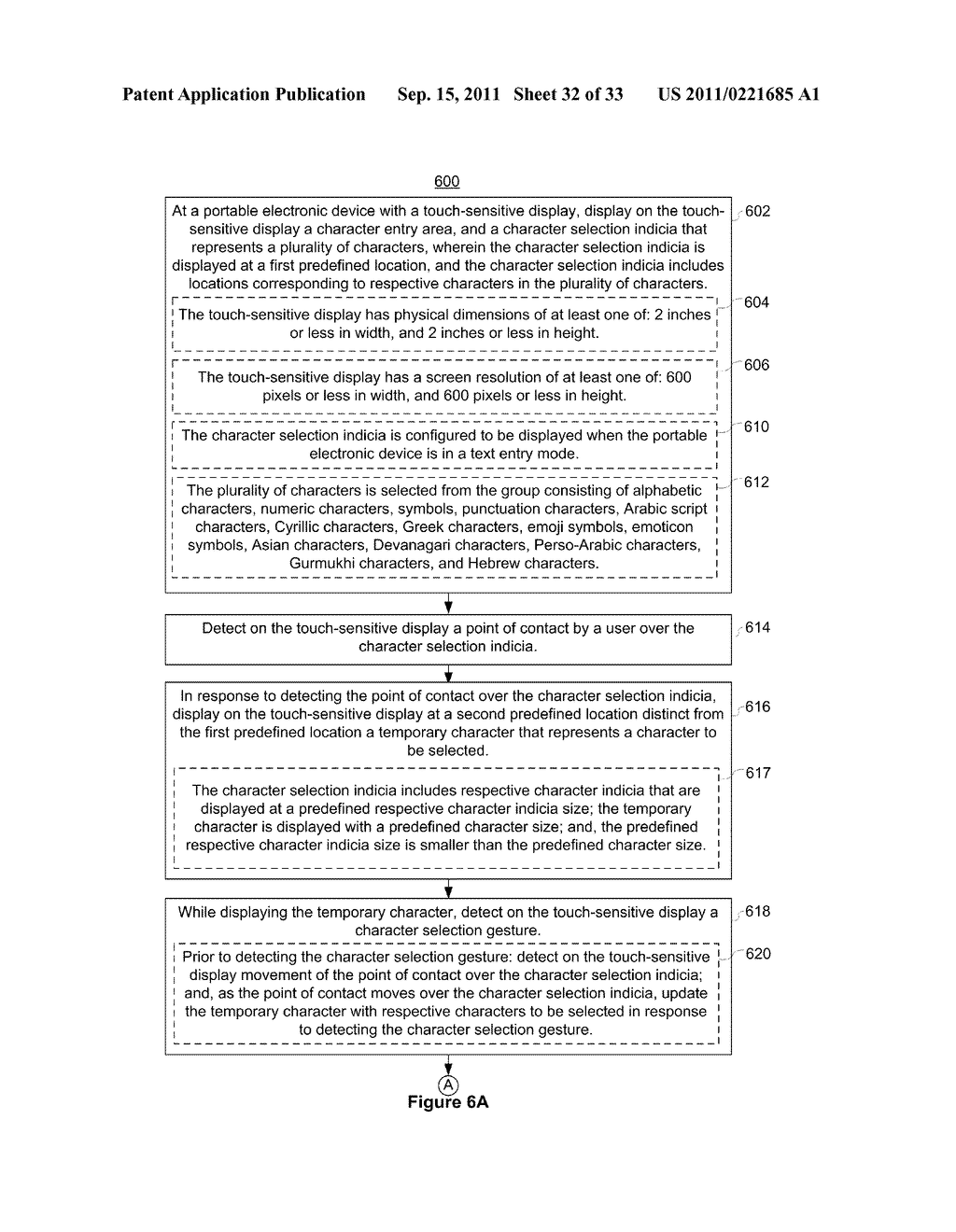 Device, Method, and Graphical User Interface for Performing Character     Entry - diagram, schematic, and image 33