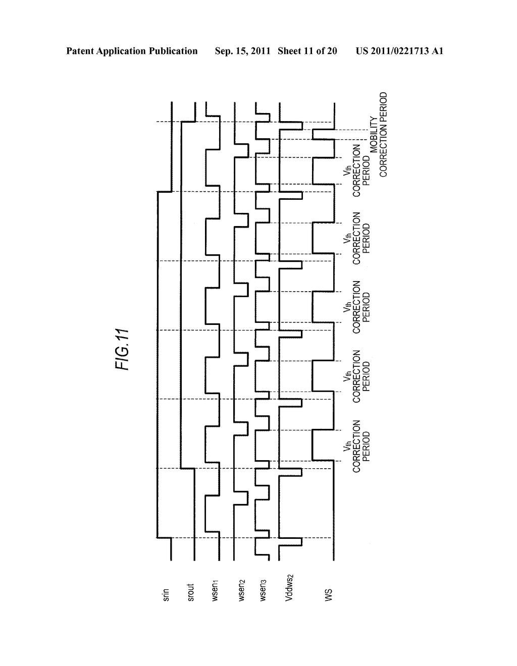 DISPLAY DEVICE, DRIVING METHOD OF DISPLAY DEVICE AND ELECTRONIC APPARATUS - diagram, schematic, and image 12