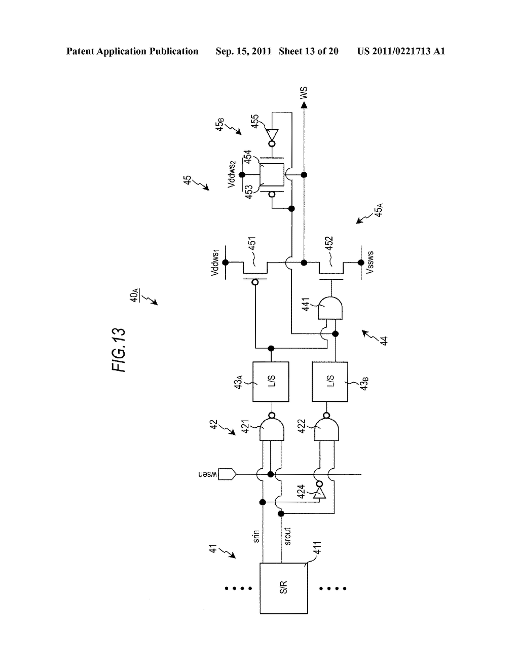 DISPLAY DEVICE, DRIVING METHOD OF DISPLAY DEVICE AND ELECTRONIC APPARATUS - diagram, schematic, and image 14
