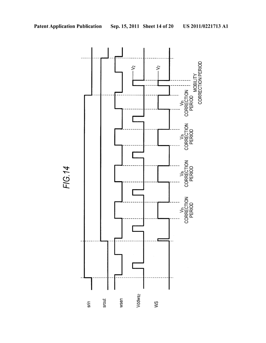 DISPLAY DEVICE, DRIVING METHOD OF DISPLAY DEVICE AND ELECTRONIC APPARATUS - diagram, schematic, and image 15