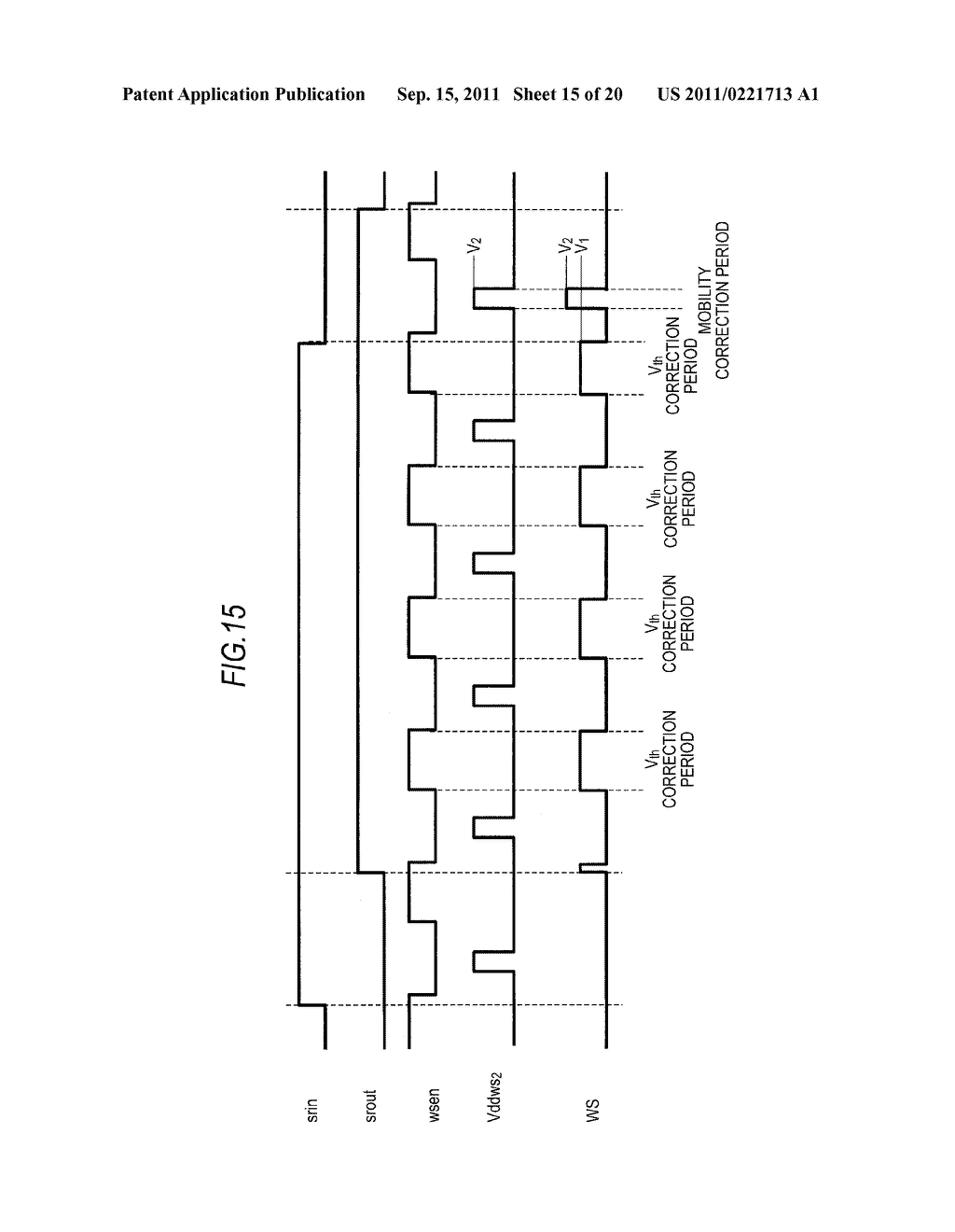 DISPLAY DEVICE, DRIVING METHOD OF DISPLAY DEVICE AND ELECTRONIC APPARATUS - diagram, schematic, and image 16