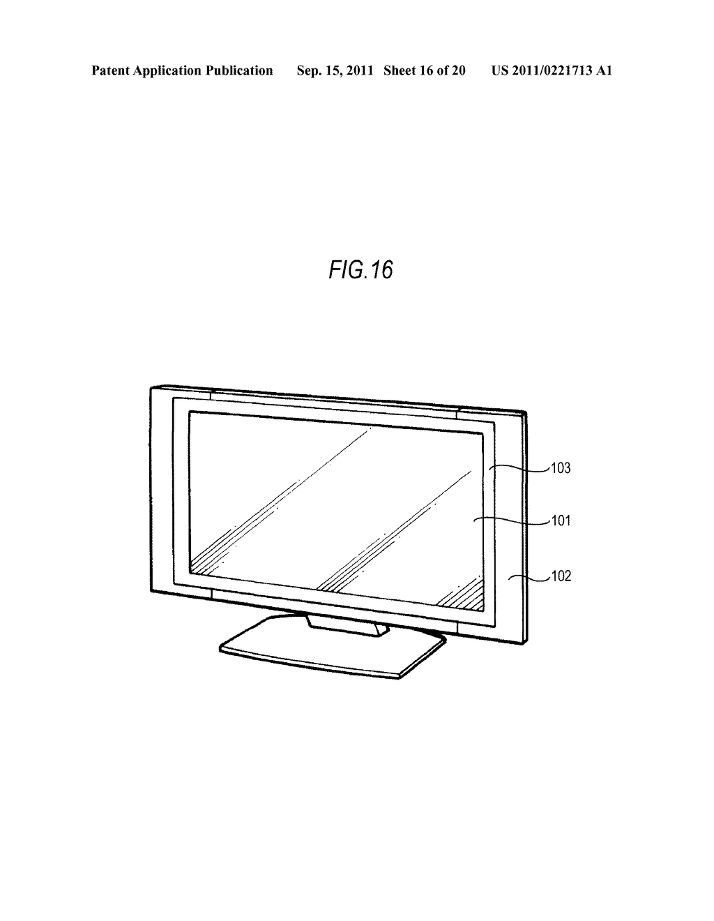 DISPLAY DEVICE, DRIVING METHOD OF DISPLAY DEVICE AND ELECTRONIC APPARATUS - diagram, schematic, and image 17