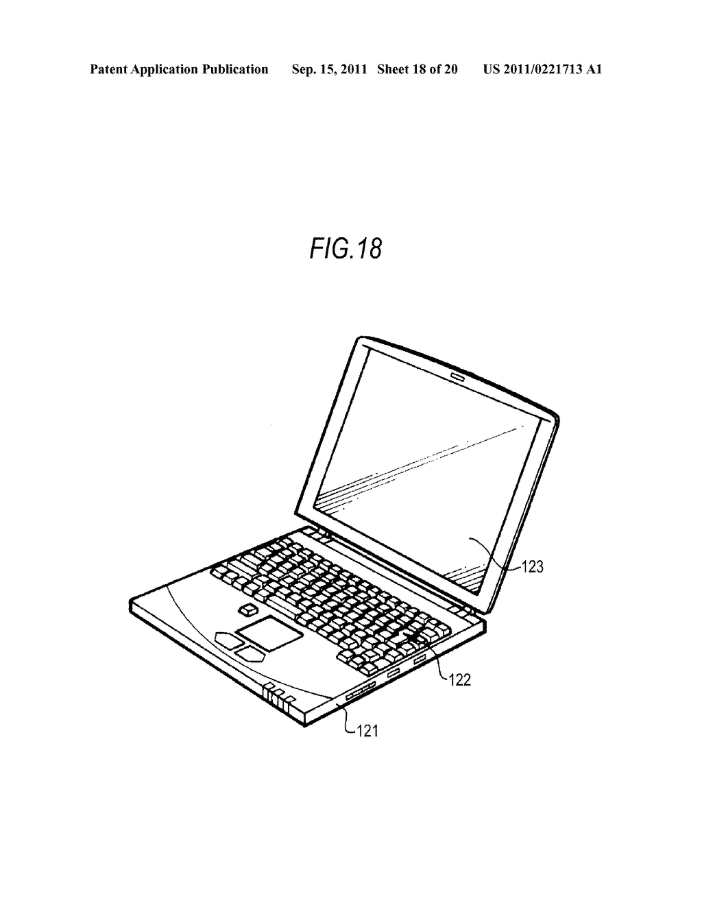 DISPLAY DEVICE, DRIVING METHOD OF DISPLAY DEVICE AND ELECTRONIC APPARATUS - diagram, schematic, and image 19