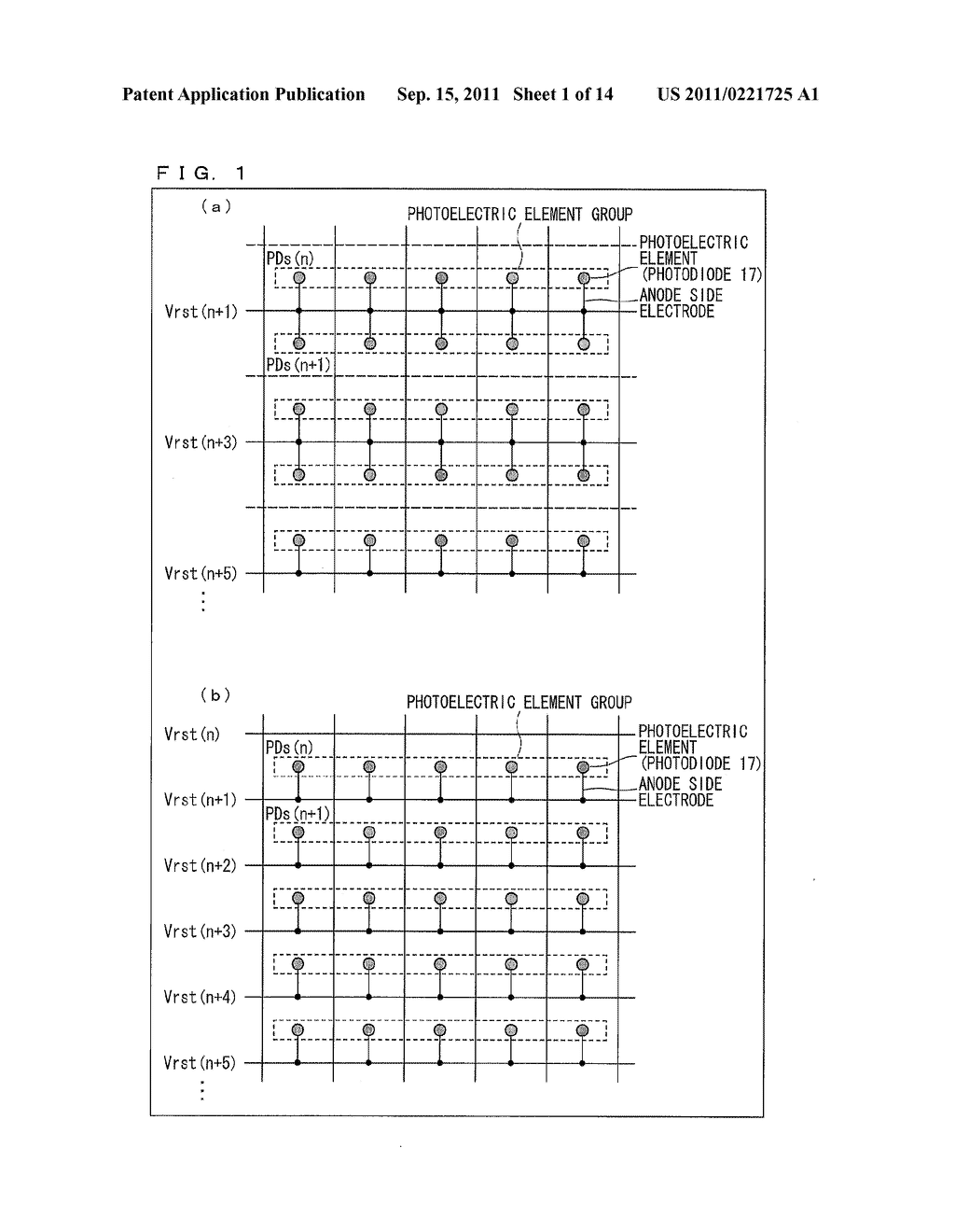 TWO-DIMENSIONAL SENSOR ARRAY, DISPLAY DEVICE, AND ELECTRONICS DEVICE - diagram, schematic, and image 02