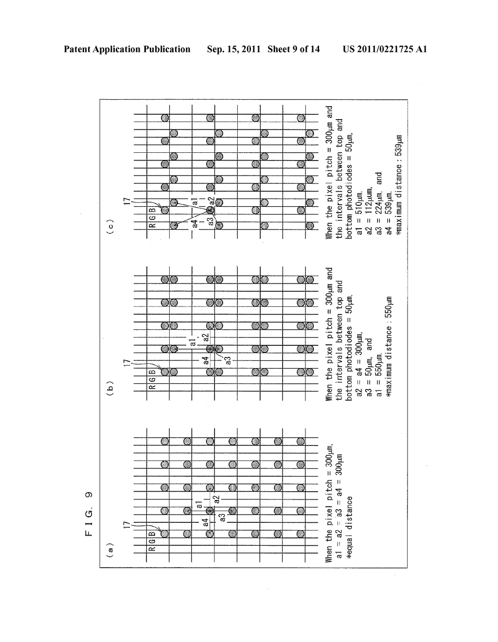 TWO-DIMENSIONAL SENSOR ARRAY, DISPLAY DEVICE, AND ELECTRONICS DEVICE - diagram, schematic, and image 10
