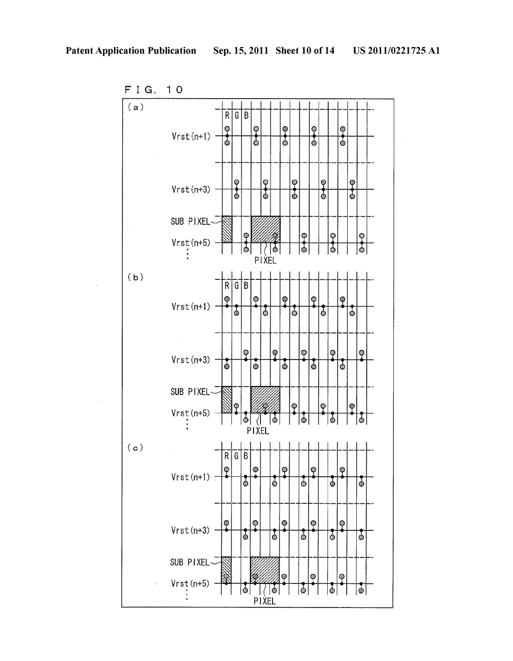 TWO-DIMENSIONAL SENSOR ARRAY, DISPLAY DEVICE, AND ELECTRONICS DEVICE - diagram, schematic, and image 11