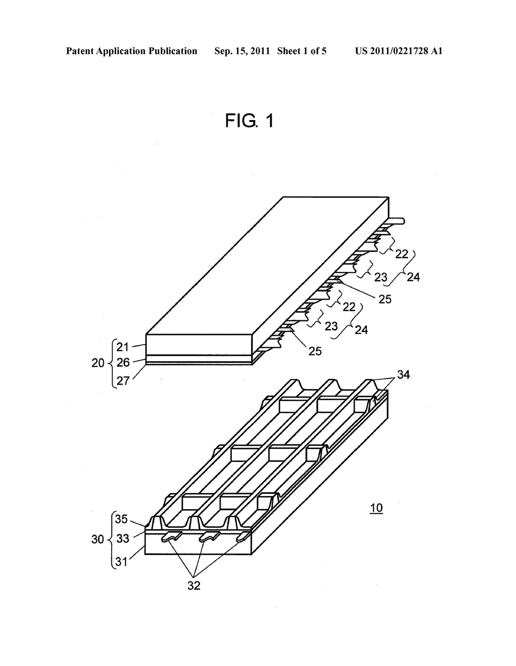 PLASMA DISPLAY PANEL AND METHOD FOR MANUFACTURING THE SAME - diagram, schematic, and image 02