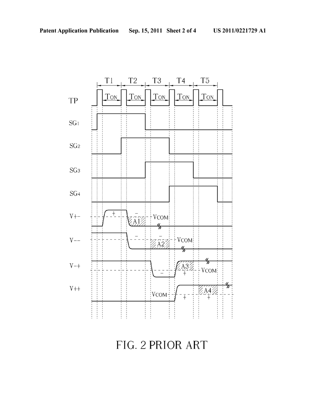 DOUBLE-GATE LIQUID CRYSTAL DISPLAY DEVICE AND RELATED DRIVING METHOD - diagram, schematic, and image 03