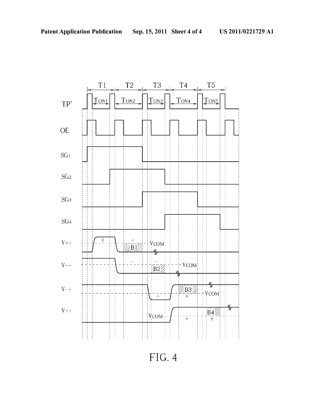 DOUBLE-GATE LIQUID CRYSTAL DISPLAY DEVICE AND RELATED DRIVING METHOD - diagram, schematic, and image 05