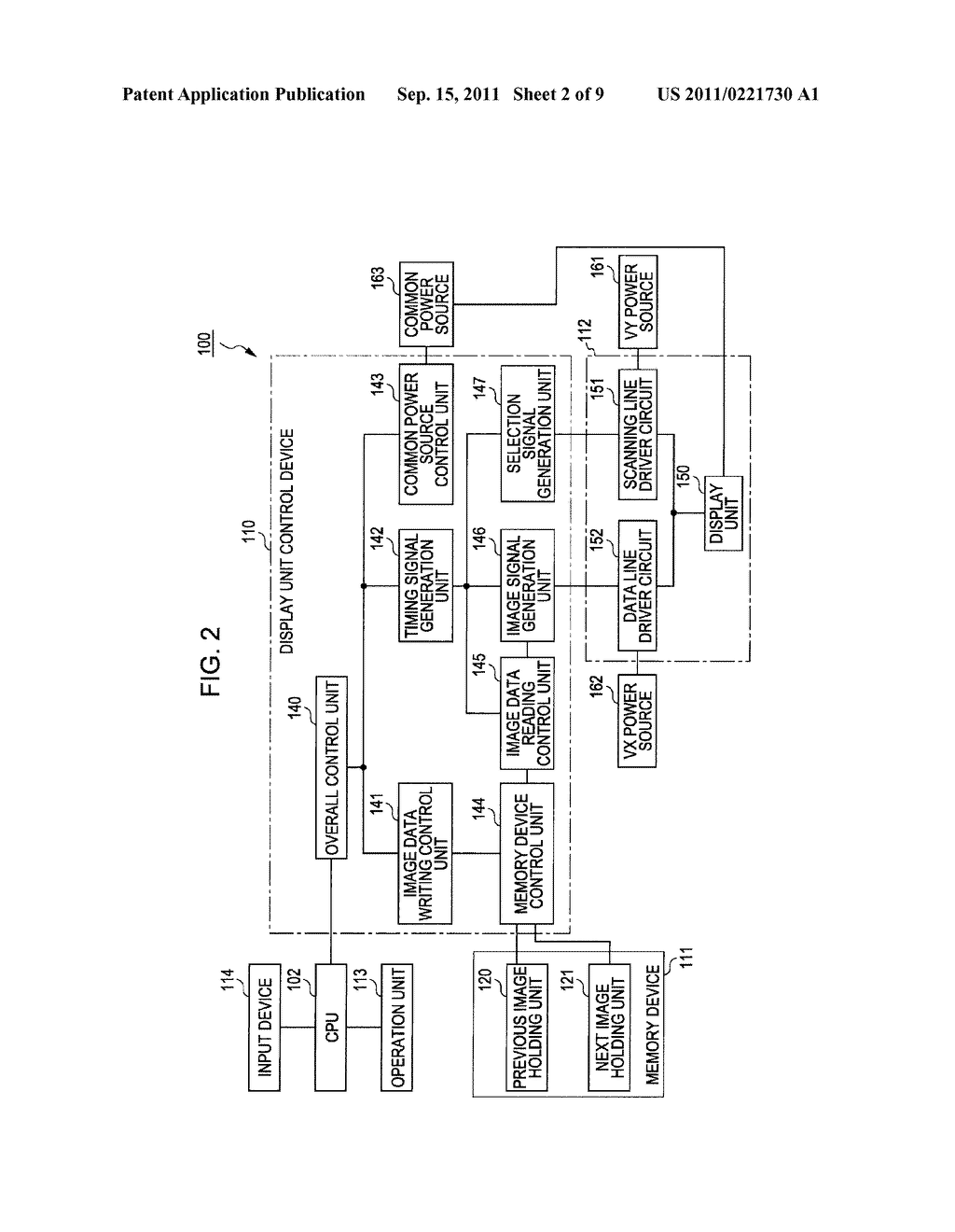 METHOD OF DRIVING ELECTRO-OPTICAL DEVICE, ELECTRO-OPTICAL DEVICE, AND     CONTROLLER - diagram, schematic, and image 03