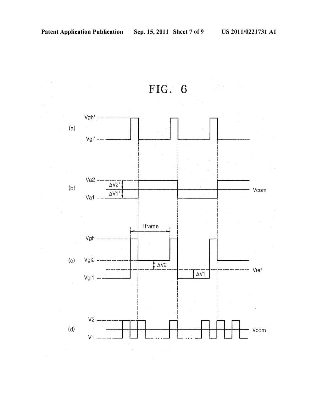 DISPLAY DEVICE HAVING INCREASED APERTURE RATIO - diagram, schematic, and image 08