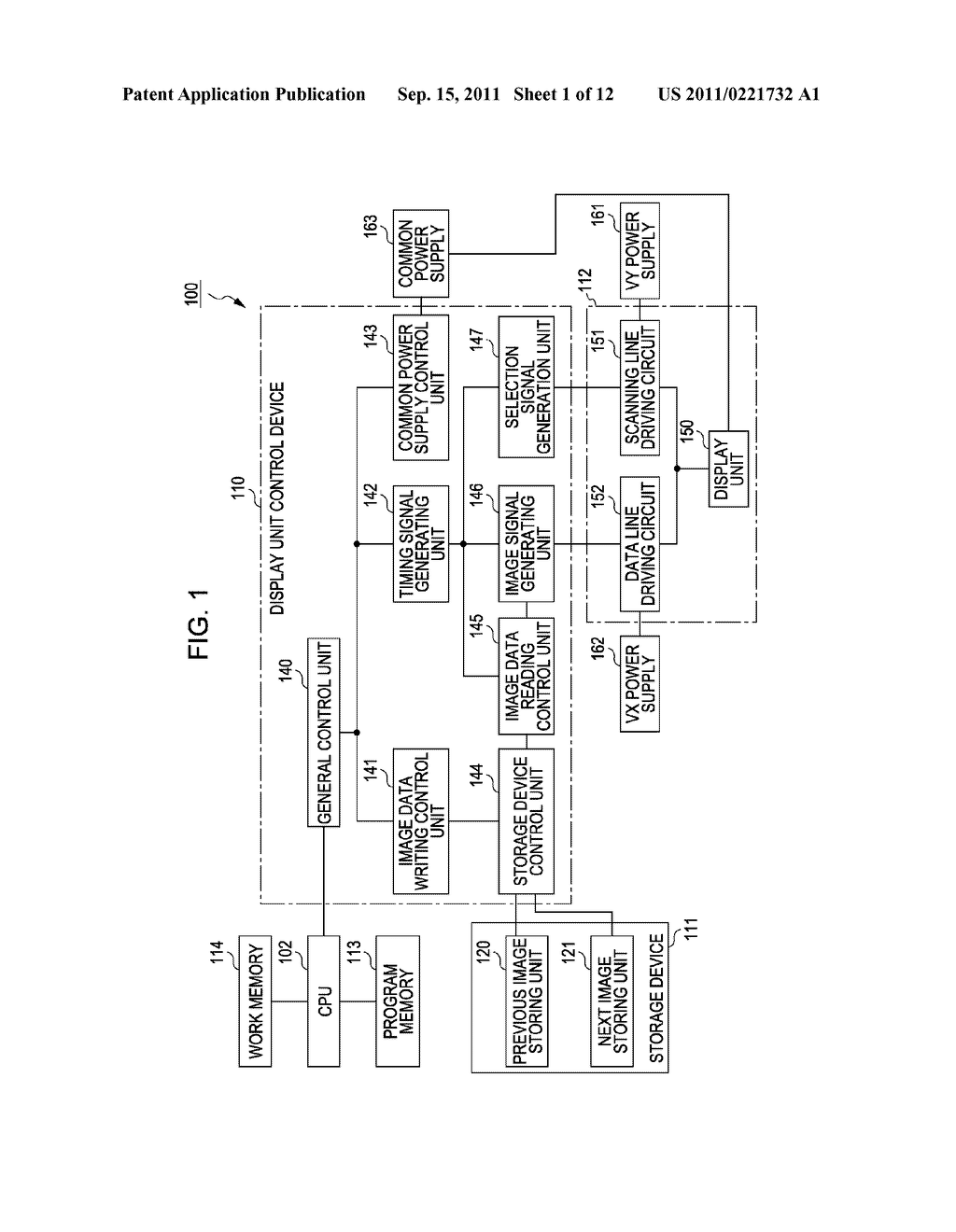 ELECTRO-OPTICAL DEVICE, METHOD OF DRIVING ELECTRO-OPTICAL DEVICE, CONTROL     CIRCUIT OF ELECTRO-OPTICAL DEVICE, AND ELECTRONIC APPARATUS - diagram, schematic, and image 02