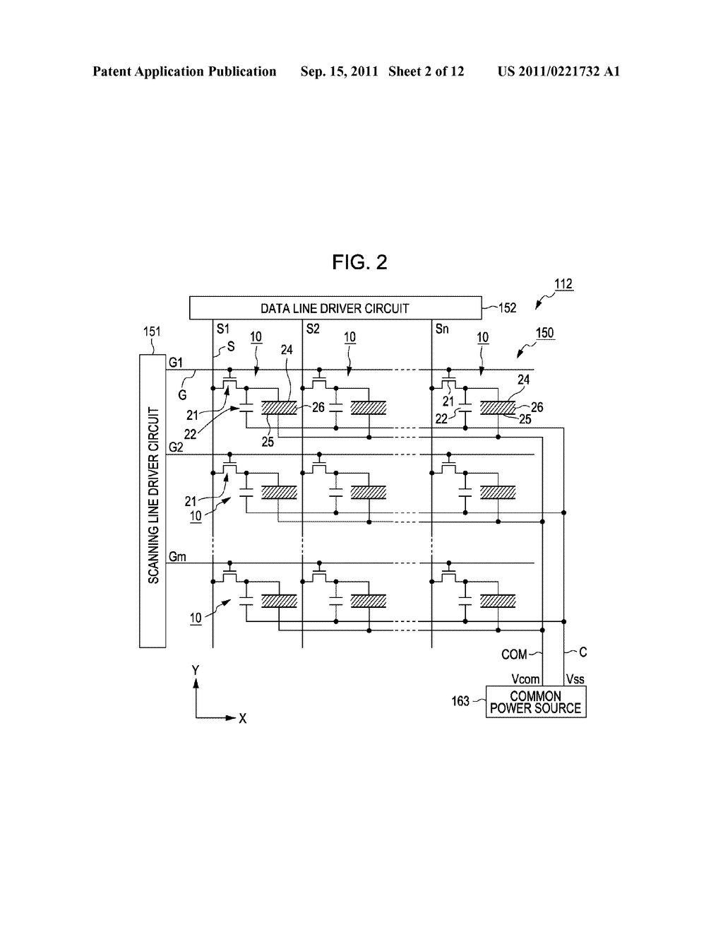 ELECTRO-OPTICAL DEVICE, METHOD OF DRIVING ELECTRO-OPTICAL DEVICE, CONTROL     CIRCUIT OF ELECTRO-OPTICAL DEVICE, AND ELECTRONIC APPARATUS - diagram, schematic, and image 03