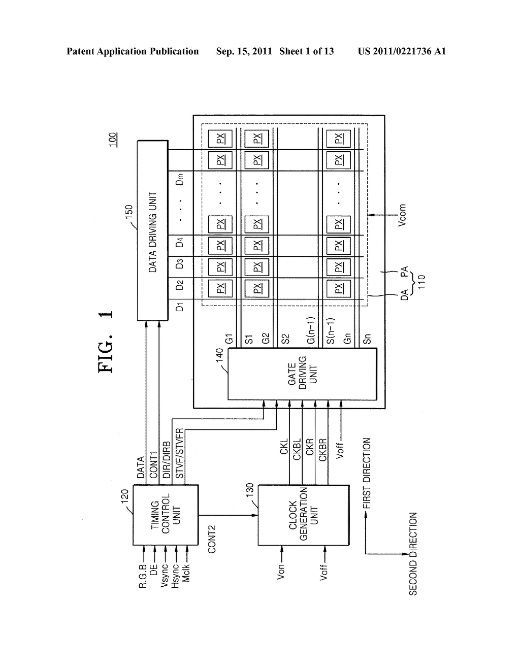 GATE DRIVING CIRCUIT AND DISPLAY APPARATUS USING THE SAME - diagram, schematic, and image 02