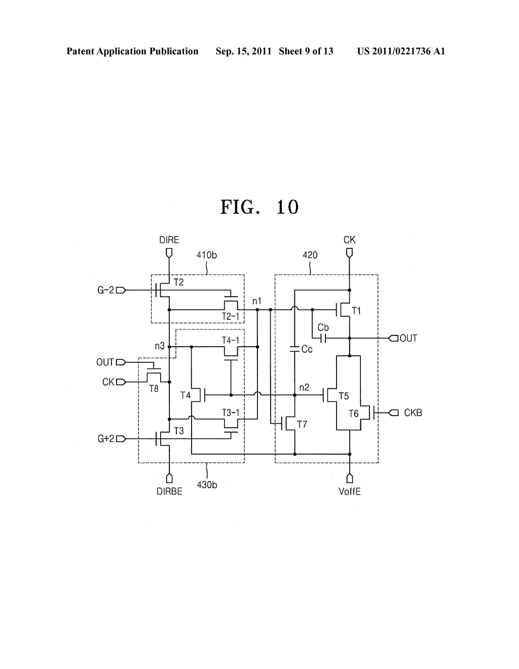 GATE DRIVING CIRCUIT AND DISPLAY APPARATUS USING THE SAME - diagram, schematic, and image 10