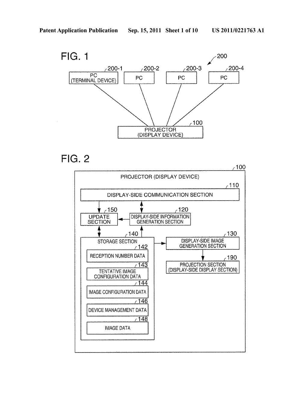 DISPLAY DEVICE, TERMINAL DEVICE, DISPLAY SYSTEM, DISPLAY METHOD, AND IMAGE     ALTERATION METHOD - diagram, schematic, and image 02