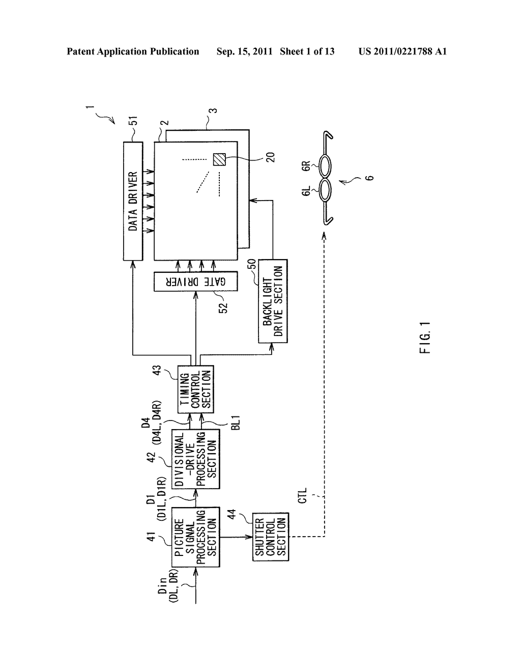 LIQUID CRYSTAL DISPLAY AND PICTURE DISPLAY SYSTEM - diagram, schematic, and image 02