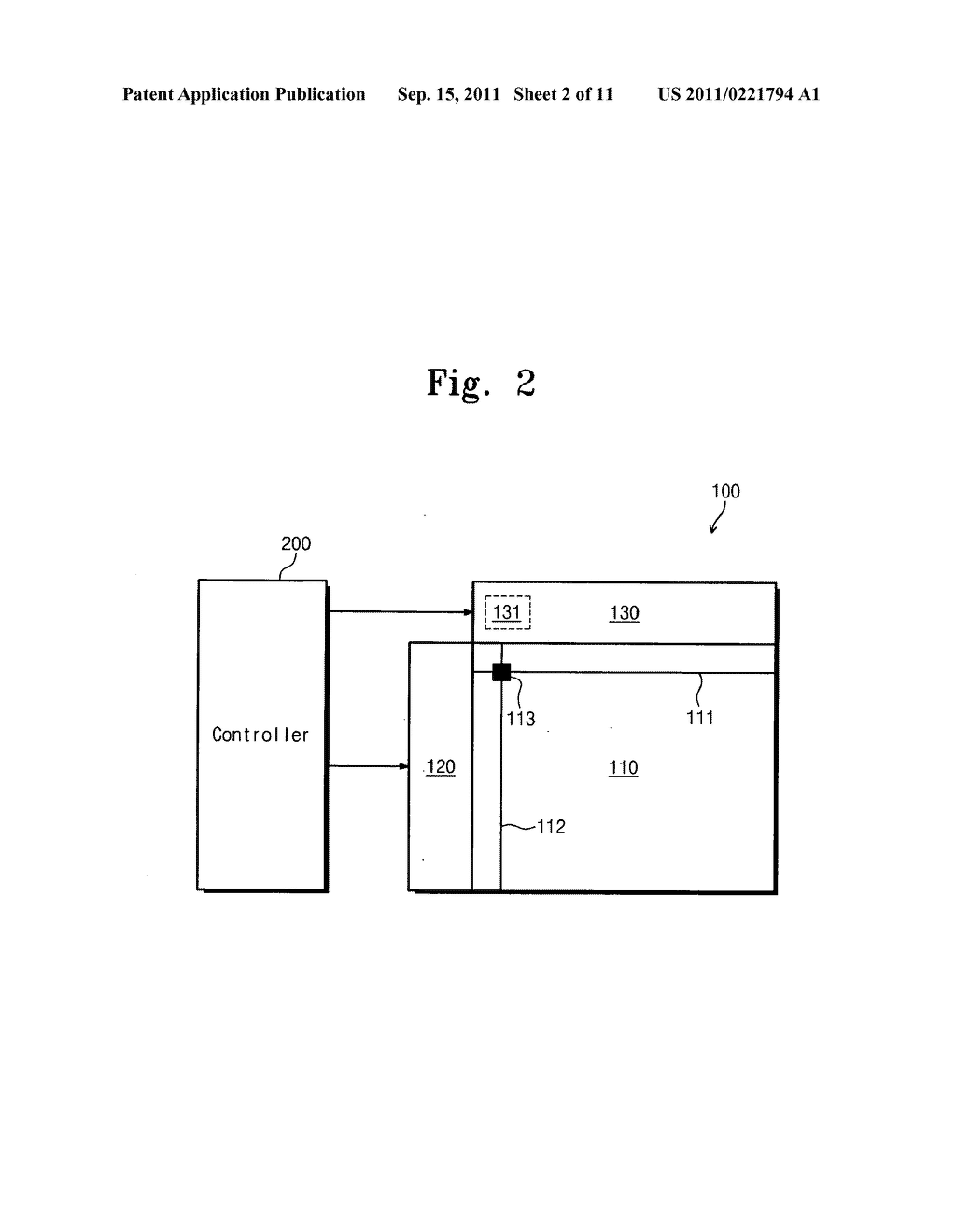 Electrophoresis display device and driving method thereof - diagram, schematic, and image 03