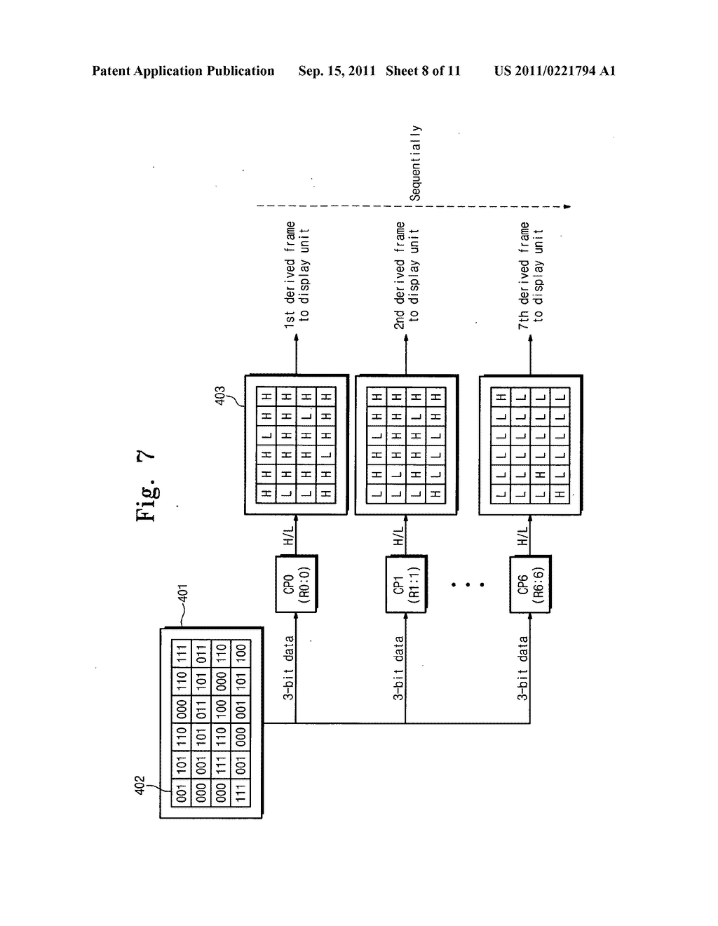 Electrophoresis display device and driving method thereof - diagram, schematic, and image 09
