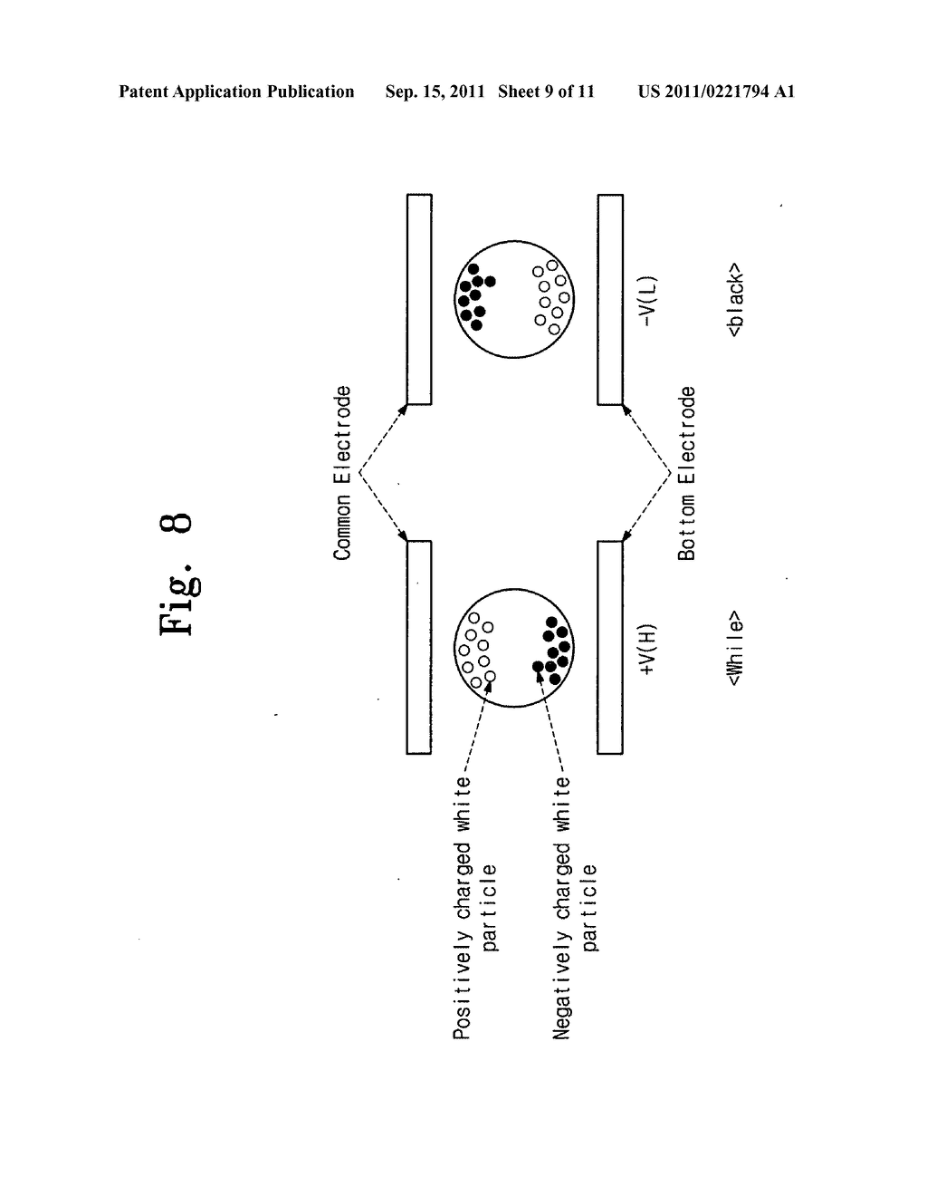 Electrophoresis display device and driving method thereof - diagram, schematic, and image 10