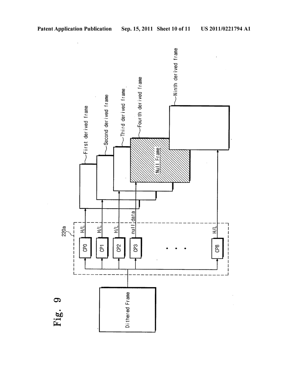 Electrophoresis display device and driving method thereof - diagram, schematic, and image 11