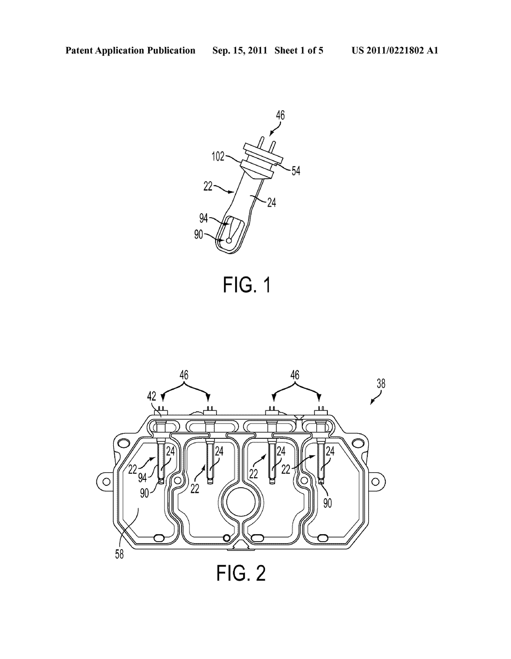 Apparatus And Method For Detecting Ink In A Reservoir Using An Overdriven     Thermistor And An Electrical Conductor Extending From The Thermistor - diagram, schematic, and image 02