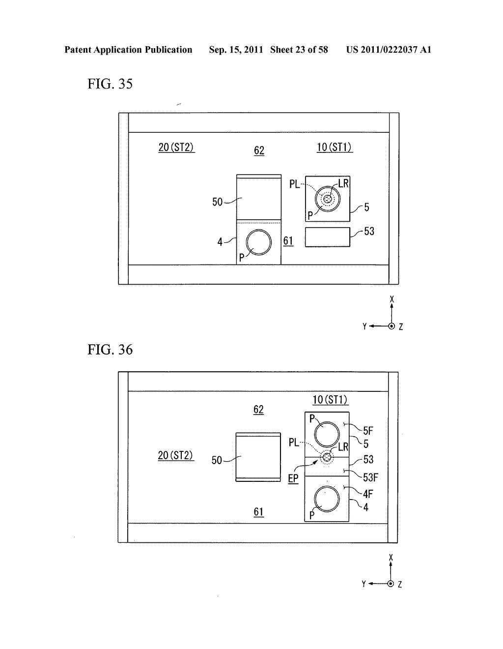 Exposure apparatus, exposure method, and device manufacturing method - diagram, schematic, and image 24