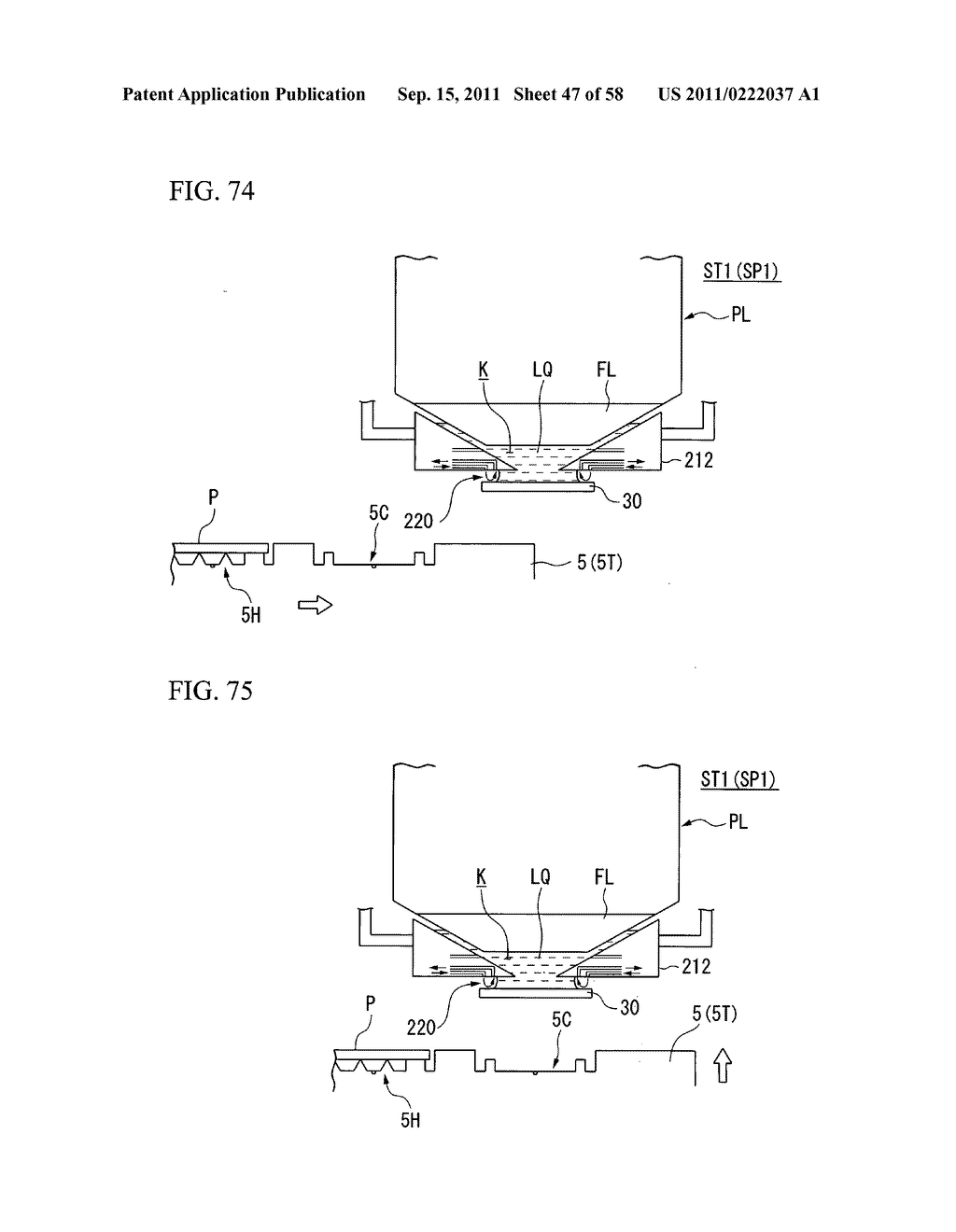 Exposure apparatus, exposure method, and device manufacturing method - diagram, schematic, and image 48