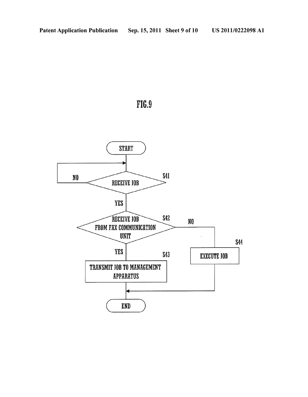 MANAGEMENT APPARATUS, IMAGE PROCESSING APPARATUS AND IMAGE PROCESSING     SYSTEM - diagram, schematic, and image 10
