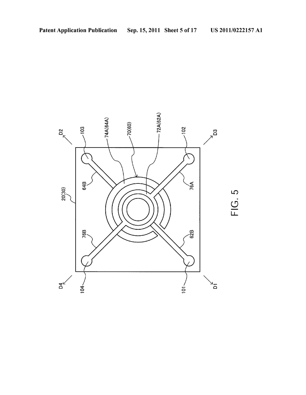 OPTICAL FILTER, OPTICAL FILTER MODULE, ANALYTICAL INSTRUMENT, AND OPTICAL     APPARATUS - diagram, schematic, and image 06