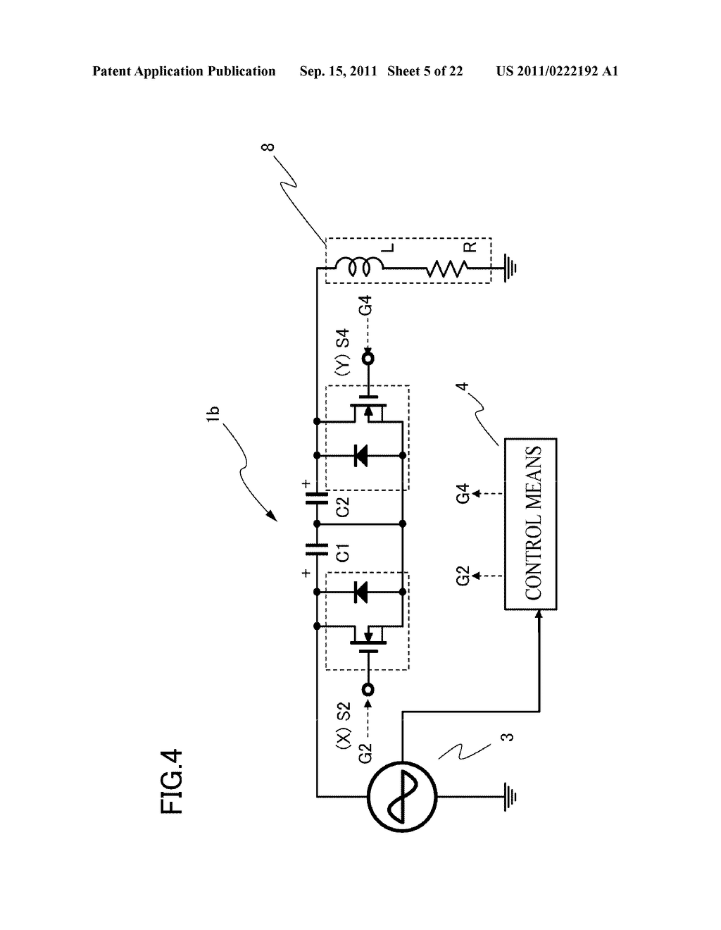 MAGNETIC ENERGY REGENERATION SWITCH PROVIDED WITH PROTECTION CIRCUIT - diagram, schematic, and image 06