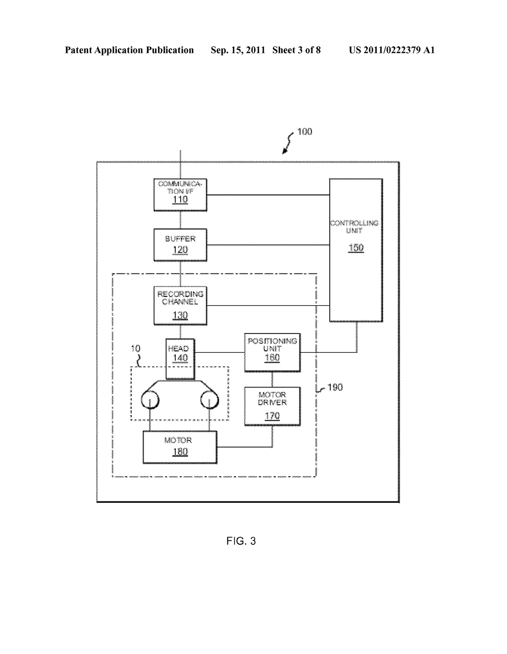 METHOD FOR CONTROLLING OVERWRITING OF DATA BY TAPE RECORDING APPARATUS ,     PROGRAM FOR CONTROLLING OVERWRITING , AND TAPE RECORDING APPARATUS - diagram, schematic, and image 04