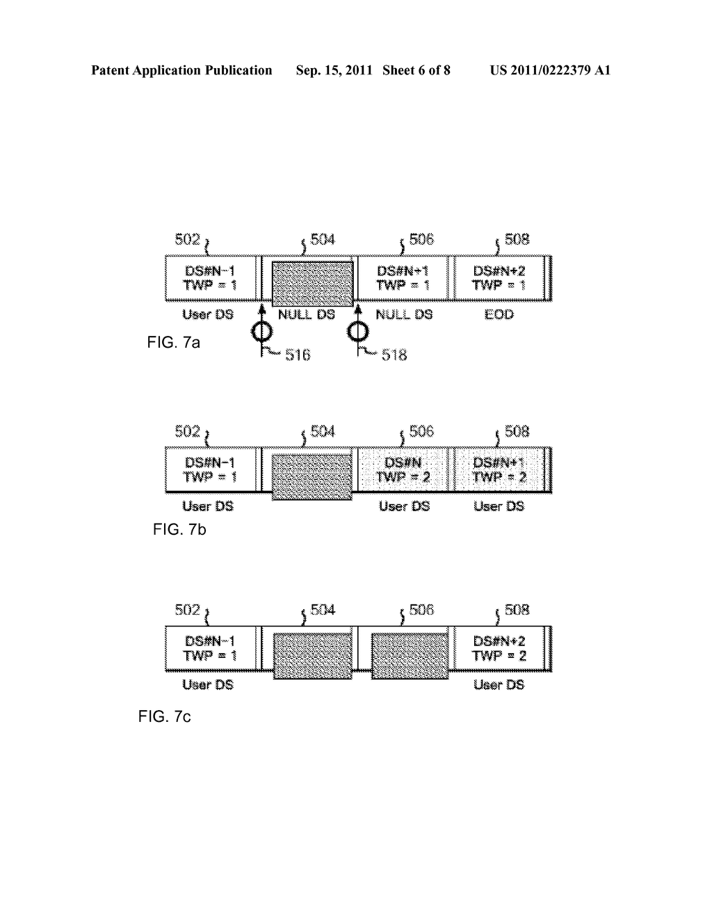 METHOD FOR CONTROLLING OVERWRITING OF DATA BY TAPE RECORDING APPARATUS ,     PROGRAM FOR CONTROLLING OVERWRITING , AND TAPE RECORDING APPARATUS - diagram, schematic, and image 07