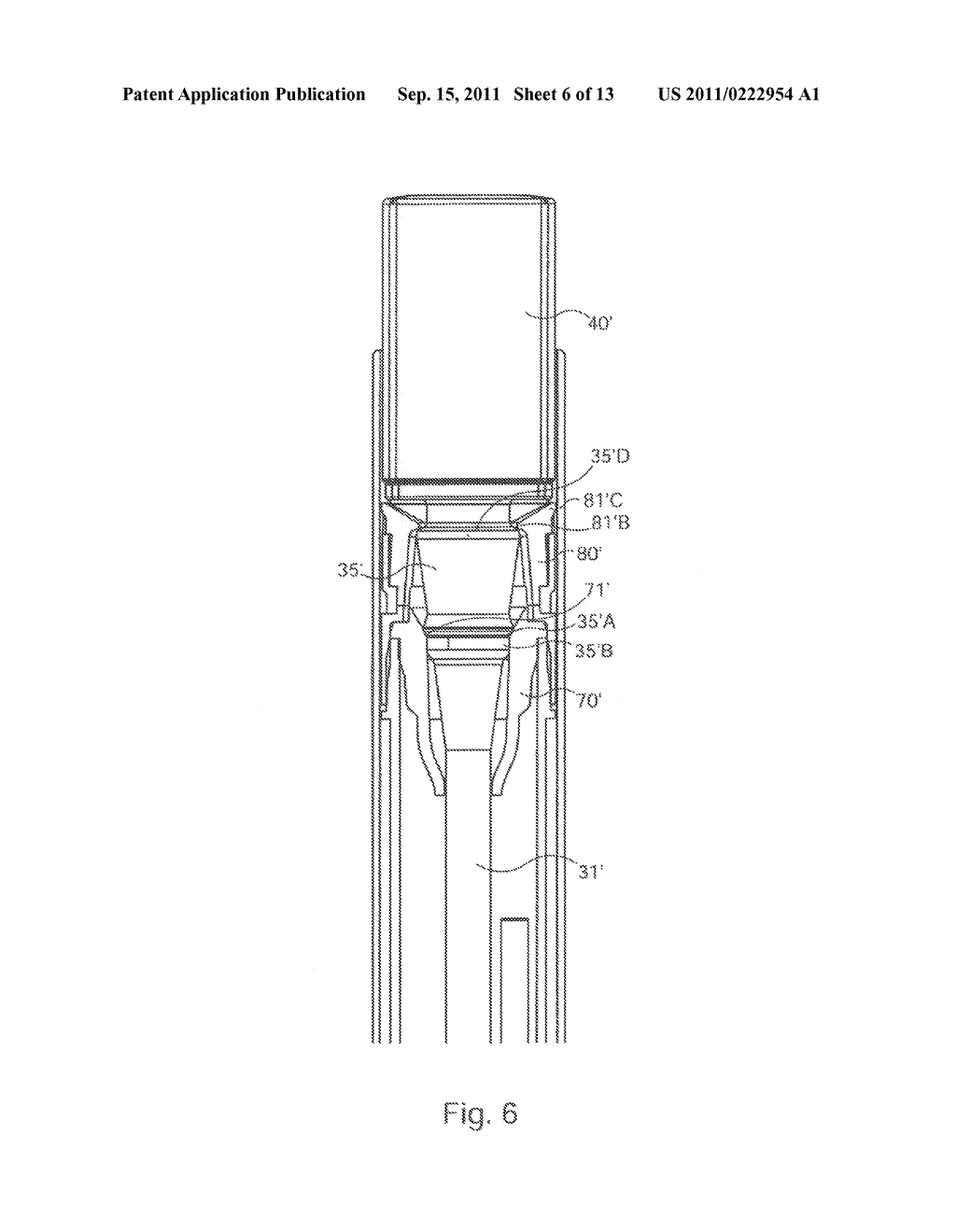 TELESCOPIC CONTAINER FOR A PASTY OR LIQUID COSMETIC PRODUCT - diagram, schematic, and image 07