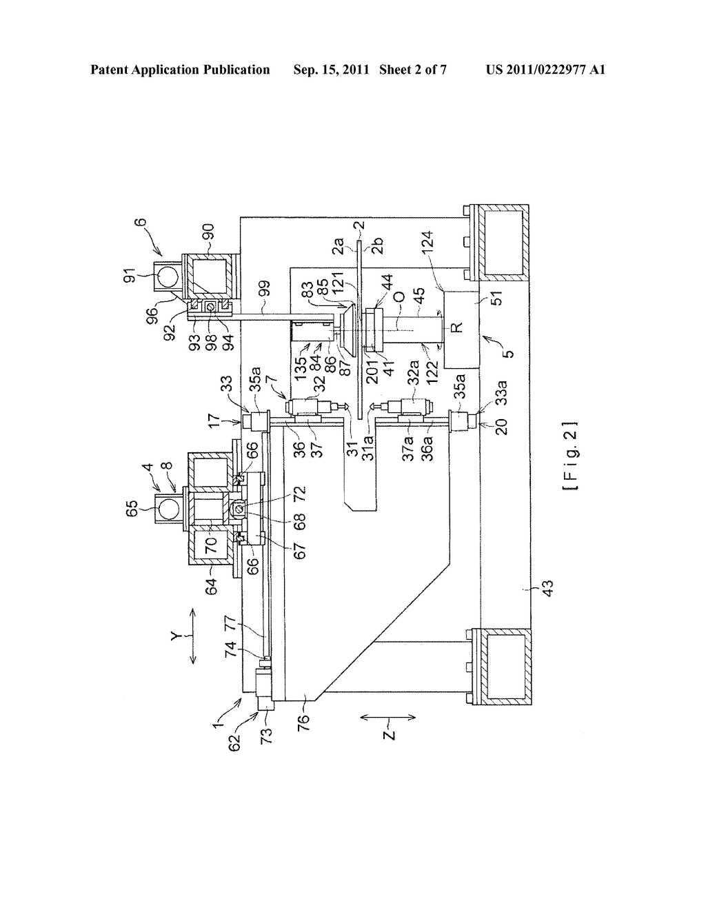 Method of drilling holes in a glass plate and apparatus thereof - diagram, schematic, and image 03