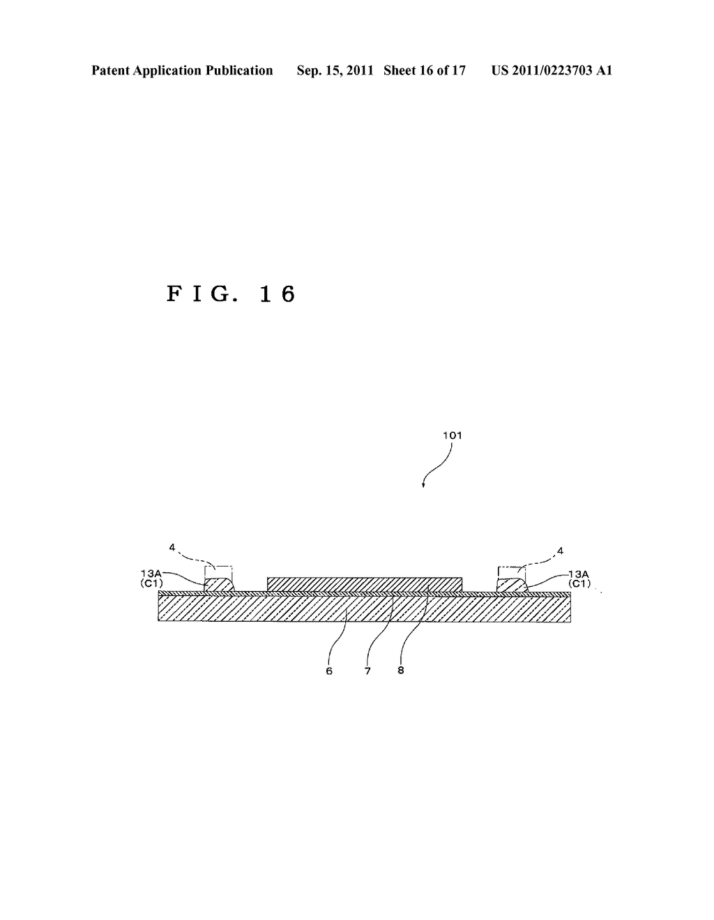 SEALING LAMINATED SHEET FOR ELECTRONIC DEVICE AND ELECTRONIC DEVICE     PRODUCTION METHOD USING SAME - diagram, schematic, and image 17