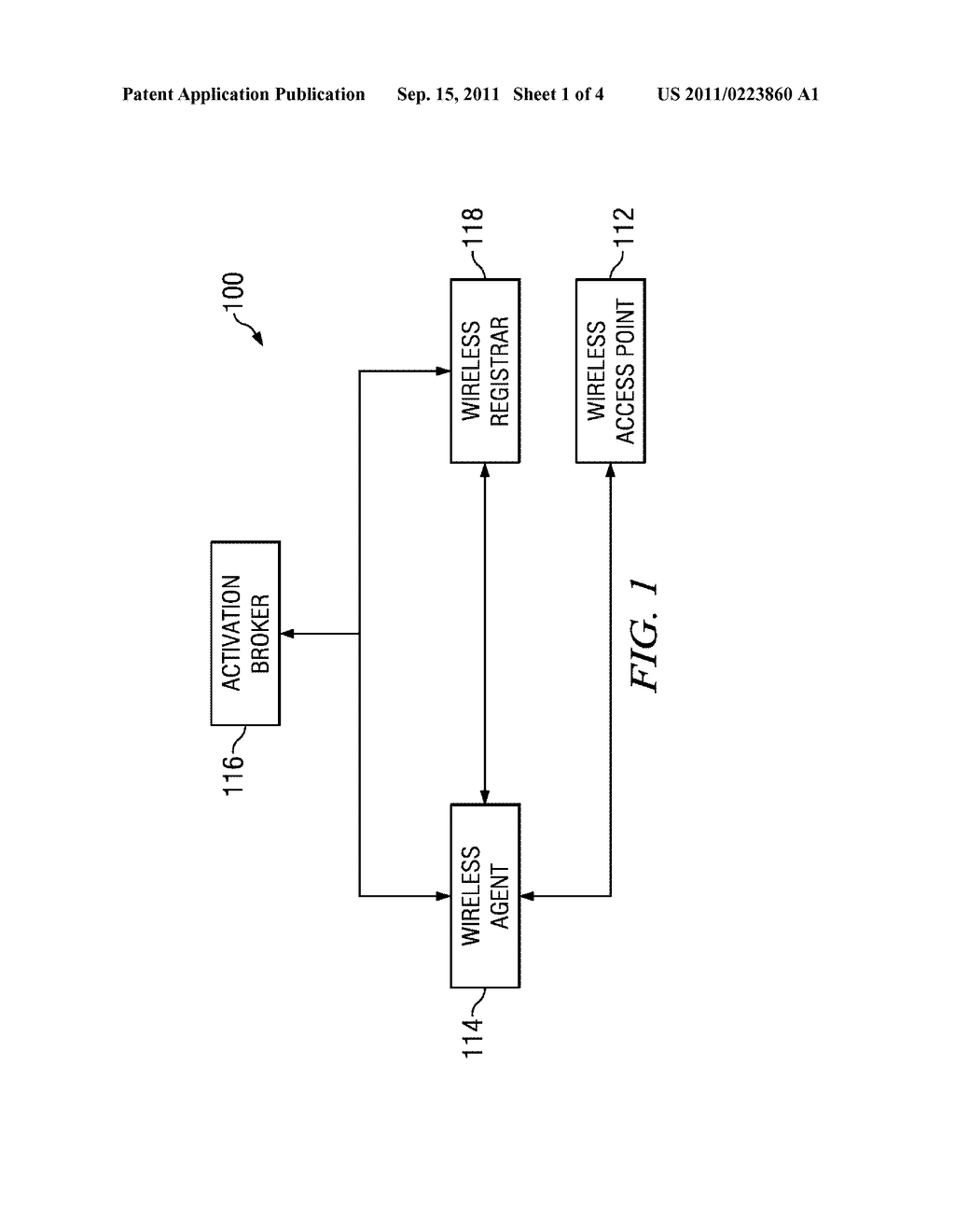 System and Method for Configuring Devices for Wireless Communication - diagram, schematic, and image 02