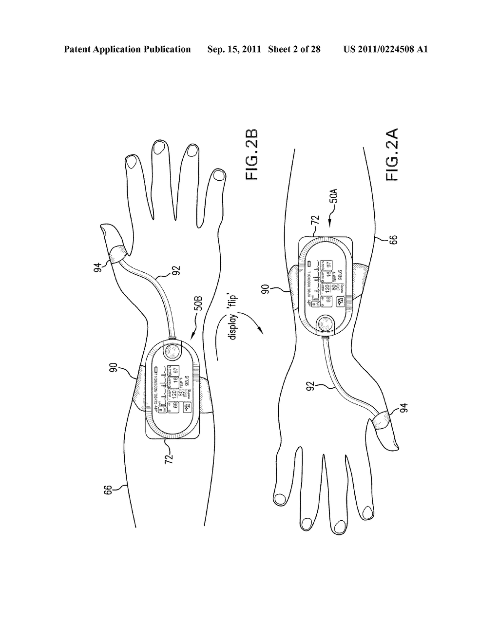 BODY-WORN VITAL SIGN MONITOR - diagram, schematic, and image 03
