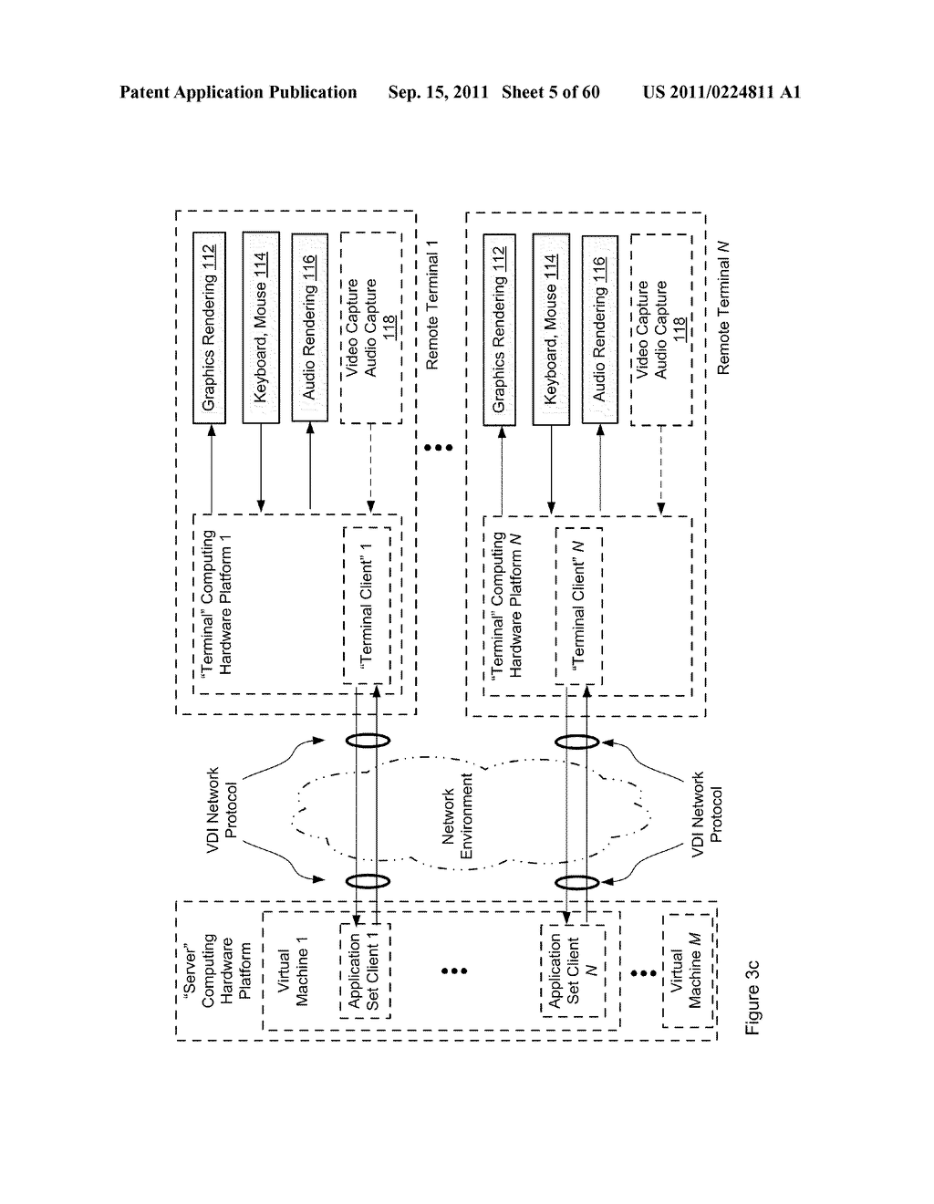 SCALABLE HIGH-PERFORMANCE INTERACTIVE REAL-TIME MEDIA ARCHITECTURES FOR     VIRTUAL DESKTOP ENVIRONMENTS - diagram, schematic, and image 06
