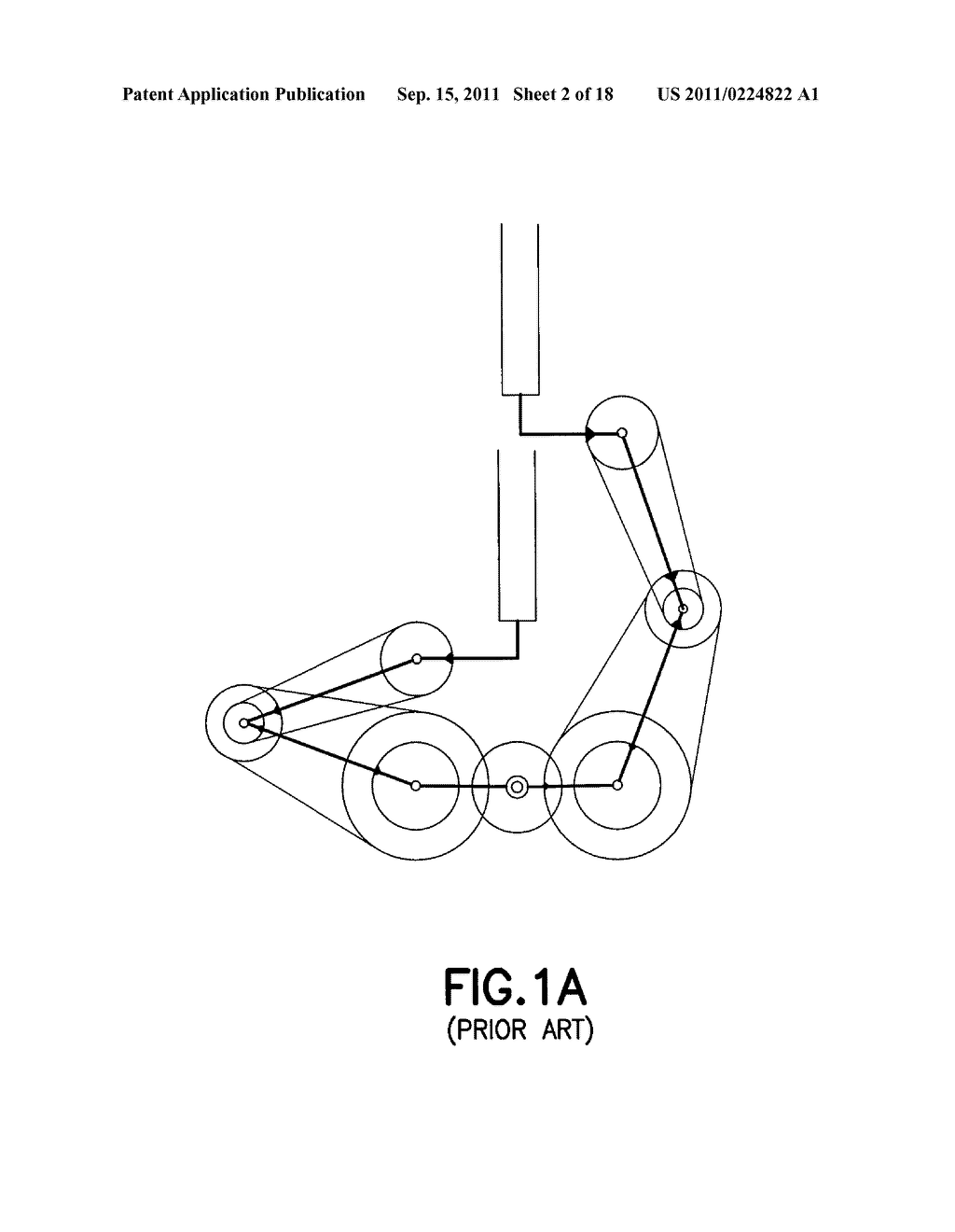 SUBSTRATE TRANSPORT APPARATUS WITH MULTIPLE INDEPENDENTLY MOVABLE     ARTICULATED ARMS - diagram, schematic, and image 03